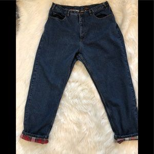 Guide Gear lined jeans size 20 high waist blue